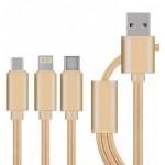 Универсальный кабель 3в1