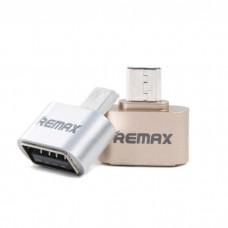 OTG переходник Remax (microUSB)