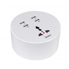 Сетевой удлинитель НОСО С17 4 USB 4.8A (1.5M)