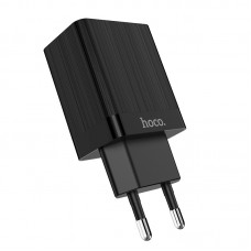 Зарядный адаптер Hoco C51A Prestige Power (2*USB) 3.4A EU