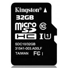 Карта памяти MicroSD 32GB Class 10 HC-I