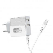 Зарядка Hoco C75 Micro USB