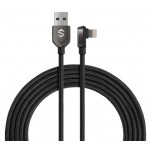 Black Shark Right-angle Lightning to USB-A Cable