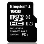 Карта памяти MicroSD 16GB Class 10 HC-I