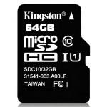 Карта памяти MicroSD 64GB Class 10 HC-I