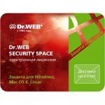 Антивирус Dr.Web Security Space (на 6 месяцев)