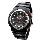 Наручные часы Casio SGW-500H-1BV Black Resin Multifunction Watch